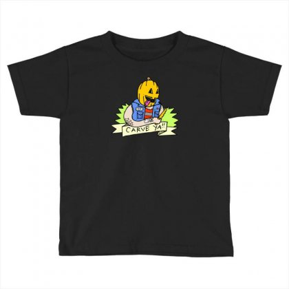 Carve Toddler T-shirt Designed By Monstore