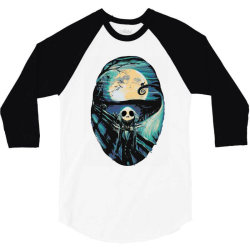 scream before halloween 3/4 Sleeve Shirt | Artistshot