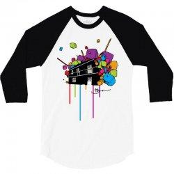 caskade 3/4 Sleeve Shirt | Artistshot
