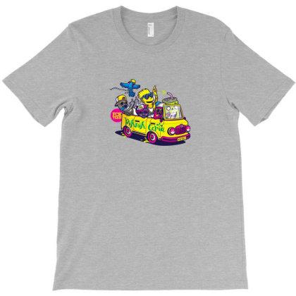 Simpsons Hip Hop Dance T-shirt Designed By Coşkun