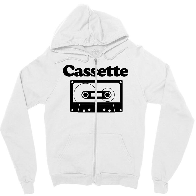 Cassette Zipper Hoodie | Artistshot