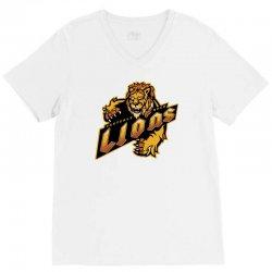 casterly rock lions V-Neck Tee | Artistshot