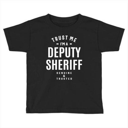 Deputy Sheriff Job Title Gift Toddler T-shirt Designed By Cidolopez