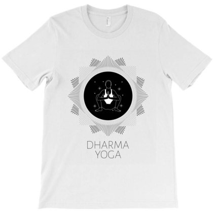Dharma Yoga T-shirt Designed By Perfect Designers