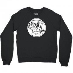 cat fish Crewneck Sweatshirt | Artistshot