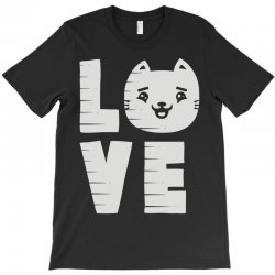 cat love T-Shirt | Artistshot