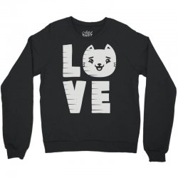 cat love Crewneck Sweatshirt | Artistshot
