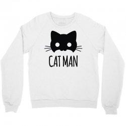 cat man Crewneck Sweatshirt | Artistshot
