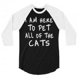 cat 3/4 Sleeve Shirt | Artistshot