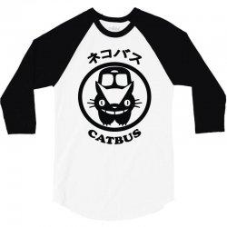 catbus 3/4 Sleeve Shirt | Artistshot