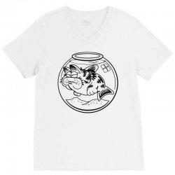 catfish V-Neck Tee | Artistshot