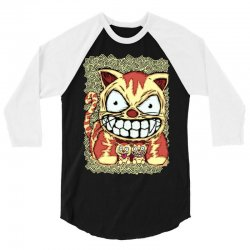 cats and son 3/4 Sleeve Shirt   Artistshot