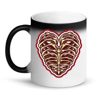 Bone Heart Magic Mug Designed By Tariart