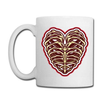 Bone Heart Coffee Mug Designed By Tariart