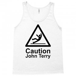 caution john terry Tank Top | Artistshot