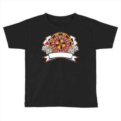 Casino Card Toddler T-shirt Designed By Tariart