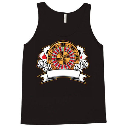 Casino Card Tank Top Designed By Tariart