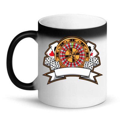 Casino Card Magic Mug Designed By Tariart