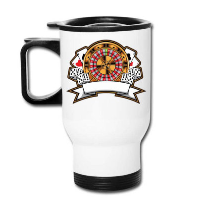 Casino Card Travel Mug Designed By Tariart