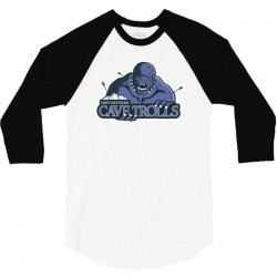 cave trolls 3/4 Sleeve Shirt | Artistshot
