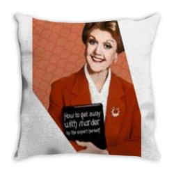 jessica fletcher Throw Pillow | Artistshot