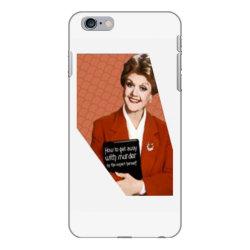jessica fletcher iPhone 6 Plus/6s Plus Case | Artistshot