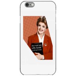jessica fletcher iPhone 6/6s Case | Artistshot