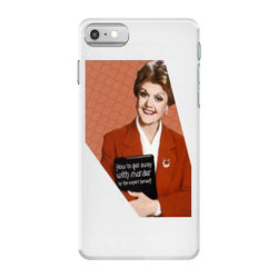 jessica fletcher iPhone 7 Case | Artistshot