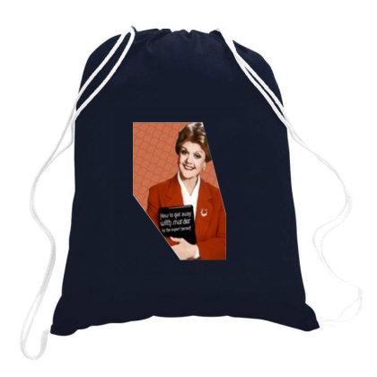 Jessica Fletcher Drawstring Bags Designed By Vidi Almano