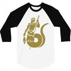 cecrops 3/4 Sleeve Shirt   Artistshot
