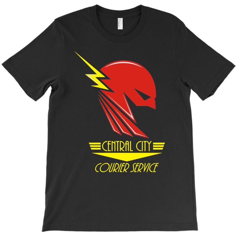 Central City Courier Service T-shirt | Artistshot