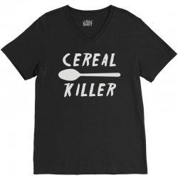 cereal killer (2) V-Neck Tee | Artistshot