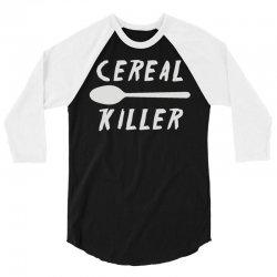 cereal killer (2) 3/4 Sleeve Shirt | Artistshot
