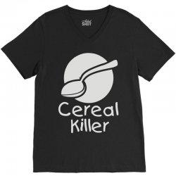 cereal killer (3) V-Neck Tee | Artistshot