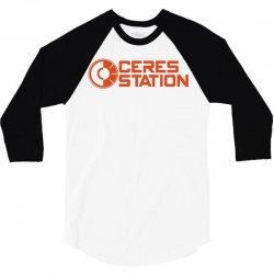 ceres station (2) 3/4 Sleeve Shirt | Artistshot