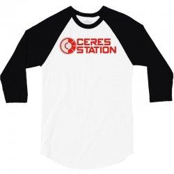 ceres station 3/4 Sleeve Shirt | Artistshot