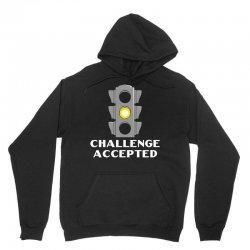 challenge accepted stoplight Unisex Hoodie   Artistshot