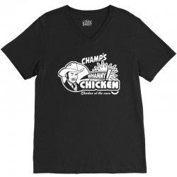 champ's whammy chicken V-Neck Tee   Artistshot