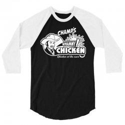 champ's whammy chicken 3/4 Sleeve Shirt   Artistshot