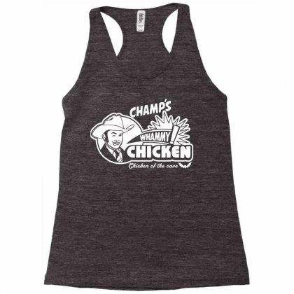 Champ's Whammy Chicken Racerback Tank Designed By Monstore