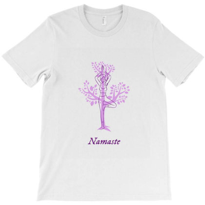 Namaste T-shirt Designed By Perfect Designers