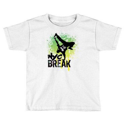 Break Dance Toddler T-shirt Designed By Coşkun