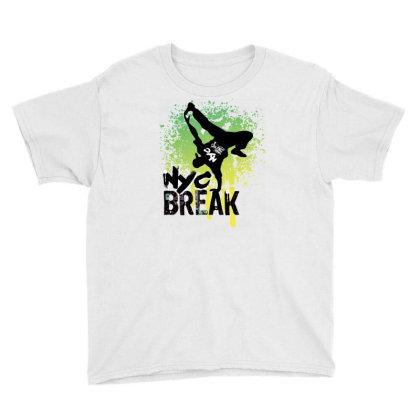 Break Dance Youth Tee Designed By Coşkun