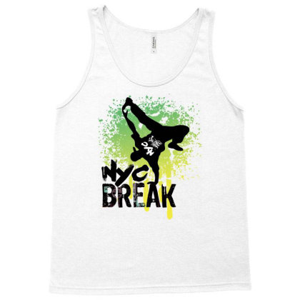 Break Dance Tank Top Designed By Coşkun