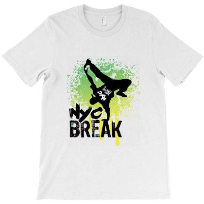 Break Dance T-shirt Designed By Coşkun