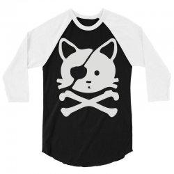 chat pirate 3/4 Sleeve Shirt | Artistshot