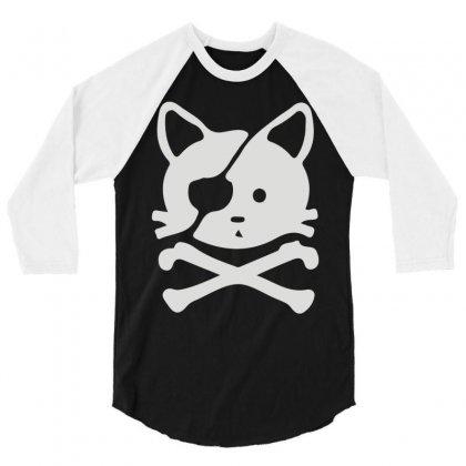 Chat Pirate 3/4 Sleeve Shirt Designed By Monstore