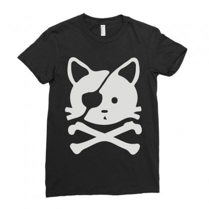 Chat Pirate Ladies Fitted T-shirt Designed By Monstore