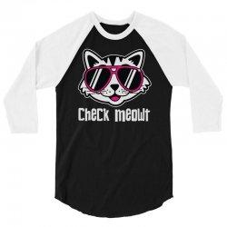 checkmeowt 3/4 Sleeve Shirt | Artistshot