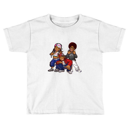 Rapper Black Boys Toddler T-shirt Designed By Coşkun